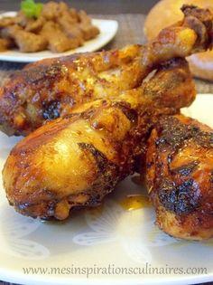 Pilons de poulet au four (delicieuse marinade)