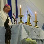 El Obispo de Catamarca presidió la misa en el Hospital San Juan Bautista