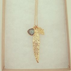Luck & Protection Long Necklace  I WANT THIS...NO, I NEED THIS