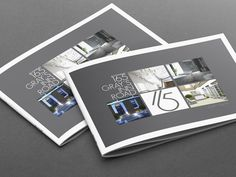 High end property brochure design services for your next property sales campaign. We have over 10 years experience designing high-end brochures.