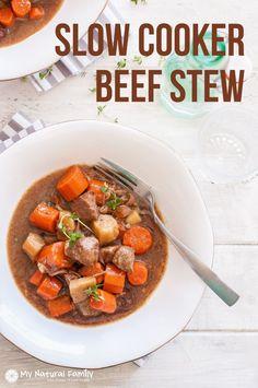Clean Eating Crock Pot Beef Stew Recipe
