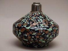 MUSEALE PORTAPROFUMO vaso vetro MURANO MURRINA MINIATURA s VENINI POLI TOSO DAUM