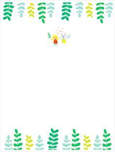 [다운로드] 오케이티나 화일 표지 : 네이버 블로그 Borders For Paper, Border Design, Illustrations And Posters, Teaching Resources, Diy And Crafts, Kindergarten, Doodles, Clip Art, Printables