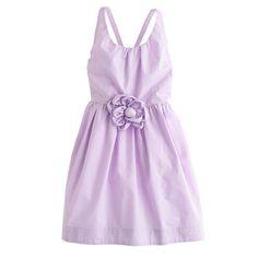 Girls' crisscross sundress - party - Girl's dresses - J.Crew