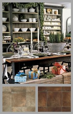 """Complicated, fussy decor has given way to simplicity that gives rooms visual breathing room. For more tips & fab floors that go w/this look, see """"Classic Holiday Style Made Better:"""" http://mmathomeblog.info/?p=2795"""