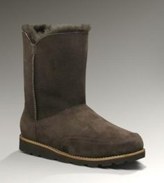 UGG Shanleigh 3216 Chocolate Boots For Sale In UGG Outlet - $112.04 Save more than $100, Free Shipping, Free Tax, Door to door delivery