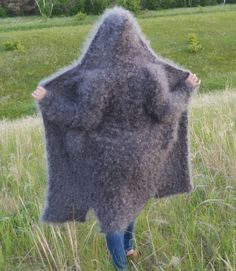 "Buy DOWNY COAT WITH the HOOD ""DOWN CHIC"" Uryupinsk goat - sweater downy"