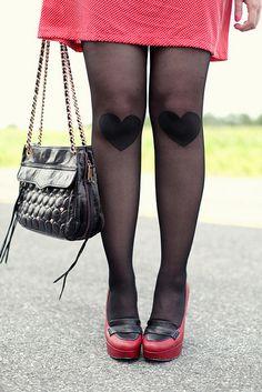 knee'd your lovin tights by keikolynnsogreat, via Flickr