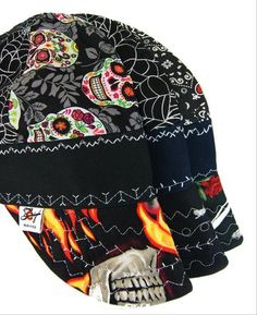 2853e206af679 3 Pk. Killer Combos Size 7 1/8 Hybrid Welding Caps Custom Welding Caps