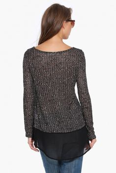 Mix It Up Sweater in Taupe | Necessary Clothing