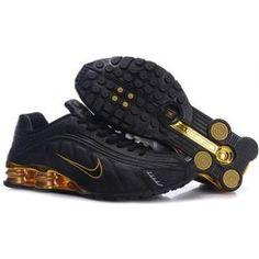 ef38ad896ca 104265 059 Nike Shox R4 Black Black J09112 Mens Nike Shox