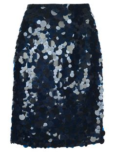Navy sequin.