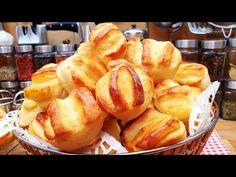 Krumplis pogácsa több napig vaj puha @Szoky konyhája - YouTube Baby Food Recipes, Cake Recipes, Snack Recipes, Vaj, Apple Pie, Macaroni And Cheese, French Toast, Chips, Baking