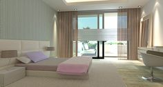 ARK Architects - Villa Mozart marbella, bedroom.