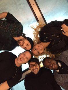 .@PTXofficial on a glass floor on top of Toronto, can you guess where? #PTXinCAN Pentatonix