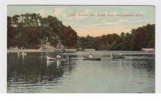 Lake Glacier, Mill Creek Park, Youngstown, Ohio