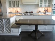 kitchen island with bench seating   Kitchen Island--Help Please! - BuildingHomes.ca - Building your ...