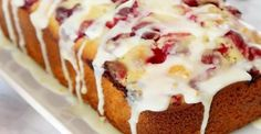 A Wonderful Orange And Cranberry Bread Recipe - Afternoon Baking With Grandma Bread Recipes, Cake Recipes, French Apple Cake, Cranberry Bread, Food 101, Baking Classes, Canadian Food, Oatmeal Cookie Recipes, Dessert Bread
