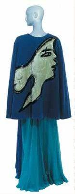 1988  - YSL tribute to Braque cape
