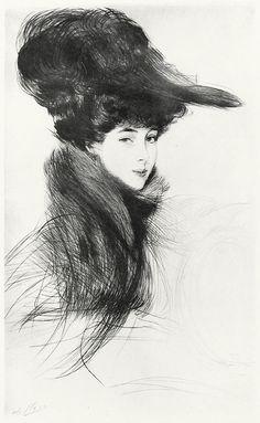 The Duchess of Marlborough - Paul Helleu
