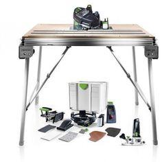 Festool Conturo Edge Bander Complete Set - Includes Conturo Set, MFT/3 Conturo Work Table & MFK 700 Conturo Router Festool Tools, Trim Router, Router Bits, Hot Melt Adhesive, Power Tools, 3, Shop, Design