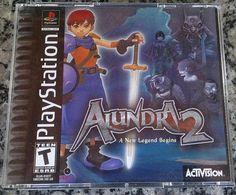 #Alundra Alundra 2 Game Box Cover -Check Out the Funny Alundra Video