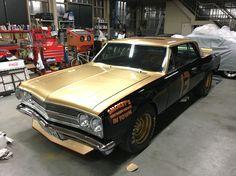 """My car is Chevrolet Chevelle Malibu SS 1965, Like a """"Smokey Yunick's Chevelle 1967""""."""