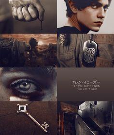 "sookashira: "" Eren Jaeger aesthetic. """