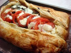 Salmon en Croûte (salmon wrapped in puff pastry)