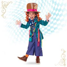 Mad Hatter Costume for Kids - Alice Through the Looking Glass   Disney Store