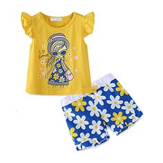 ae31fffa250 online shopping for Mud Kingdom Little Girls Short Sets Summer Holiday  Daisy Flower Outfits from top store. See new offer for Mud Kingdom Little  Girls Short ...