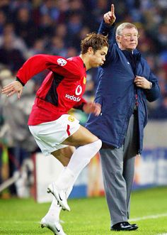 Ronaldo & Sir Alex Ferguson