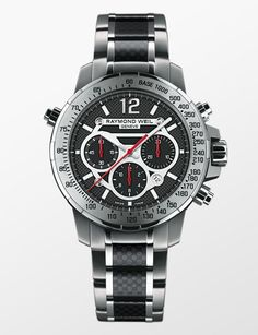 Raymond Weil Nabuuco Steel and Titanium http://alwaysfashion.com/p/1481/raymond-weil-nabucco-steel-titanium-and-carbon-fiber-black-dial/1513
