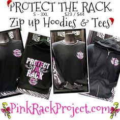 HURRY and order your #ProtectTheRack Zip up Hoodies & Tees!!! The #holidaysarecoming Fast!!! #Shop online at www.pinkrackproject.com for other great #gift ideas!! Your purchase helps women and families fight #breastcancer!!! #Christmas #shopping #hunting Fast Shop, Zip Up Hoodies, Pink Camo, Christmas Shopping, Breast Cancer, Love Her, Tees, Shirts, Zip Ups