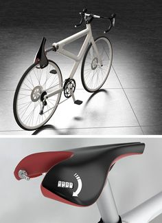 Lee Sang Hwa - Saddle Lock Concept Hair Dryer, Bike, Lee Sang, Bicycles, Design, Concept, Technology, Products, Fashion