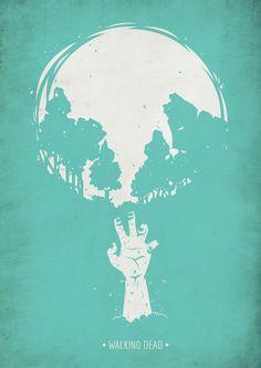 Walking Dead Cover by SOUP , via Behance