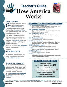 How America Works | KIDS DISCOVER.. free printable