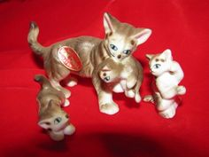 Hey, I found this really awesome Etsy listing at https://www.etsy.com/listing/123912545/mrs-cat-kittens-1960s-vintage-miniature