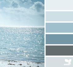 Color Horizon via @designseeds #designseeds #seedscolor #color #colorpalette #color #palette #colour #colourpalette