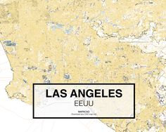 Los Angeles - EEUU. Download CAD Map city in dwg ready to use in Autocad. www.mapacad.com