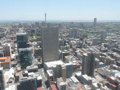 View from the Top of Africa, Carlton Centre, Johannesburg, South Africa