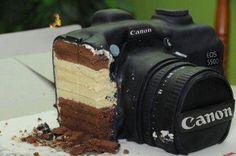 Canon Camera Cake!
