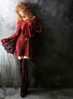Beautiful Crochet Dresses13