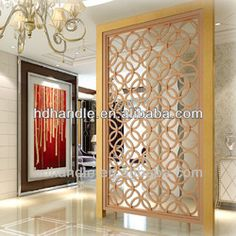 Source Stainless steel decorative screen living room divider partition on m.alibaba.com