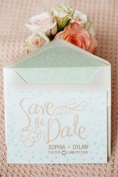 Beautiful save the dates!