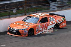 25 July 2015 | Daniel Suarez (18) Arris Toyota Camry during the NASCAR Xfinity Series Lilly Diabestes 250 at the Indianapolis Motor Speedway in Speedway, Indiana.