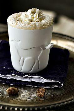 Eggnog Chai Latte {+eggnog coffee latte recipe} @FoodBlogs