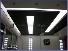 Oświetlenie LED w kuchni, wystrój sufit LED napinany.