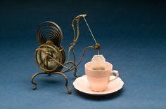 key driven clockwork teabag dunker