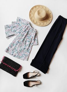 A locally made independent ladies clothing line run by women designing easy and effortless pieces. Pin Tucks, Circles, Planes, Sandal, Stylists, Hat, Clothes For Women, Black, Tops